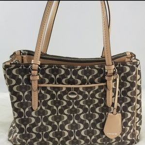 Coach Peyton Dream C Jordan Double Zip Carryall